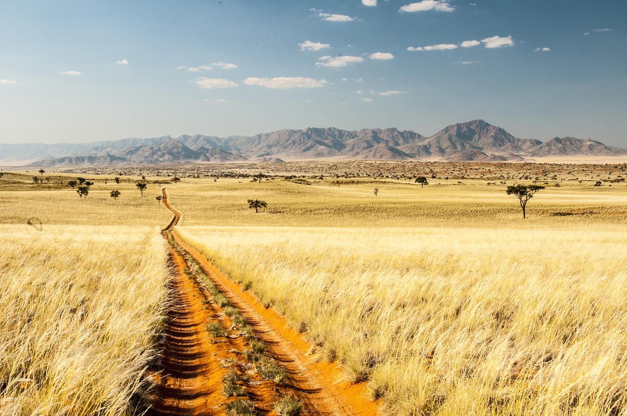 Wunderschön - am Rande der Wüste Namib