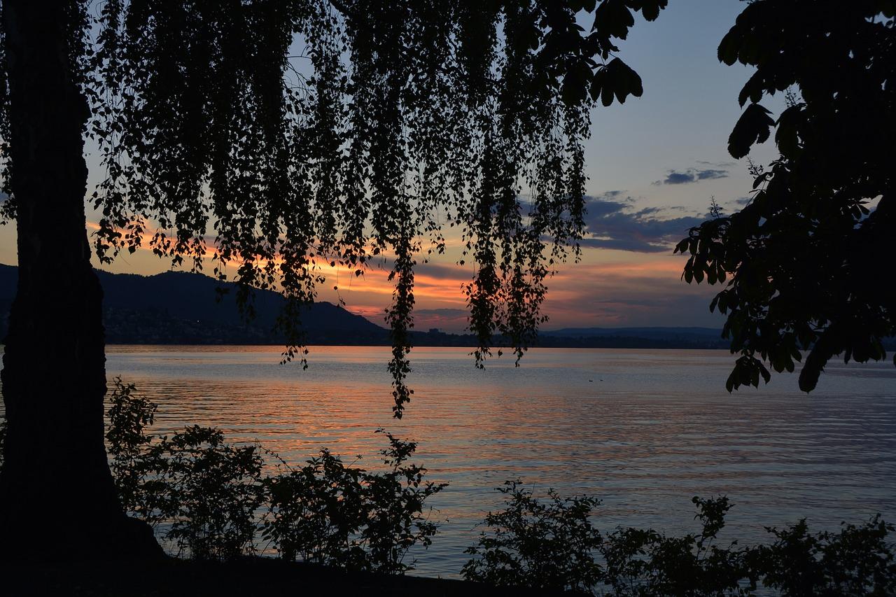 Zürichsee Stimmungsbild