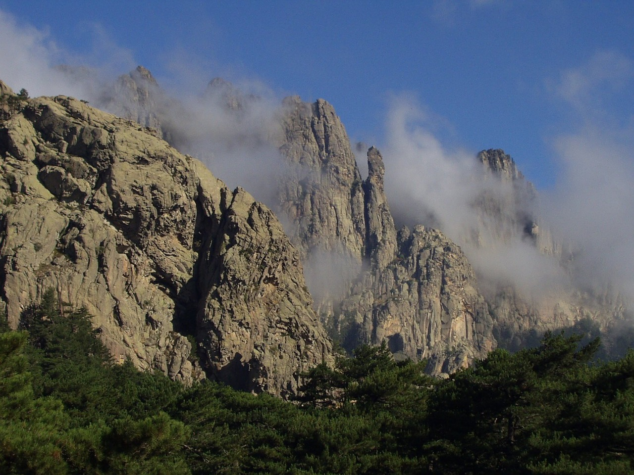 Gebirge Insel Korsika